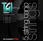 TGI 5 string banjo strings
